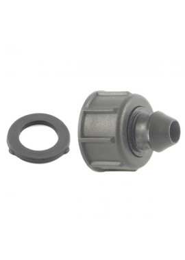 Female threaded offtake with swivel nut and gasket