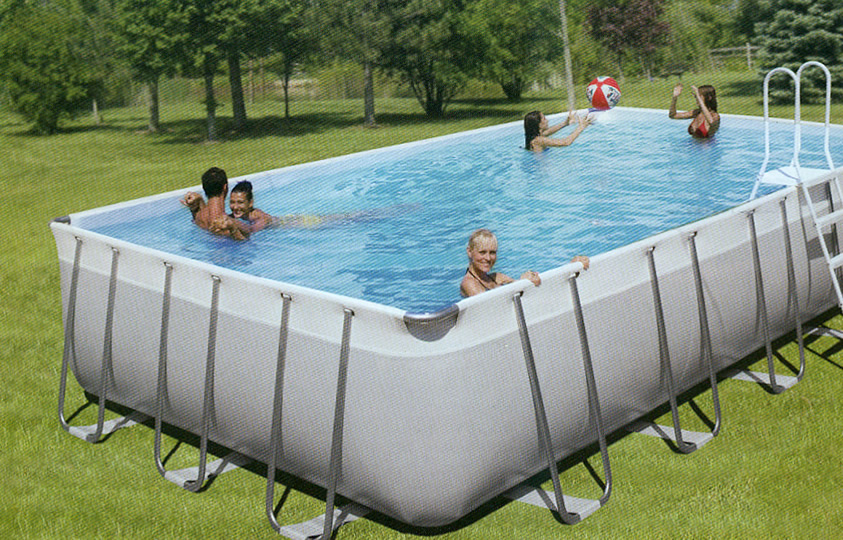 Piscine intex rigide intex sequoia spirit piscine ronde for Piscine rigide