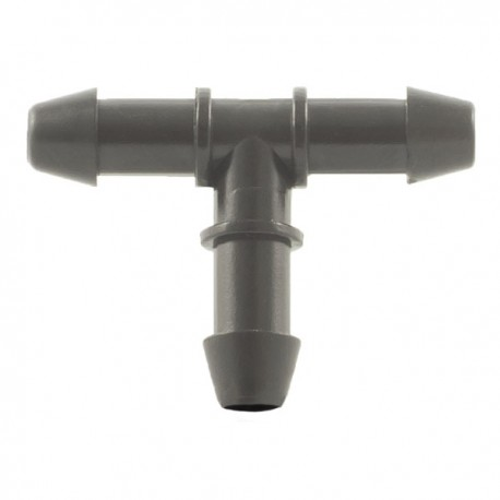 Tee for small flexible pipe
