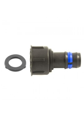 Female fitting with swivel nut