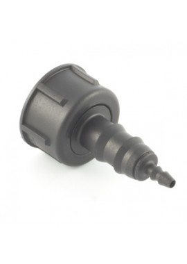 """Female Fitting with swivel nut, for 16 mm pipe or 3,5x6 / 4x6 """"spaghetto"""" pipe (art.9130)"""