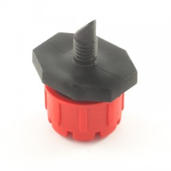 Adjustable dripper with Ø5 MA threaded connection