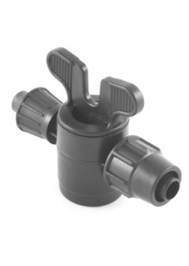 Valve with dripline-PN4-PN6* quickjoint offtakes