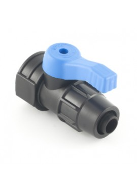 Valve with PN4-PN6* quickjoint-female thread offtakes