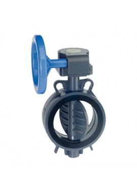 Handwheel gear box butterfly valve