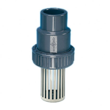 One fl ow direction foot valve, S/W with PP screen