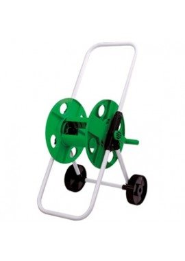 "Hose cart stores up to 150 feet for ½"" hose or 120 feet ⅝"""