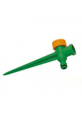 "Plastic spike for Ø ½"" sprinkler, Ø ¾"" F thread"