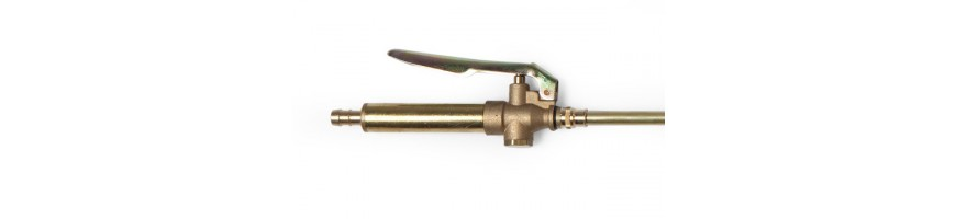 Brass spray tubes-brass fittings
