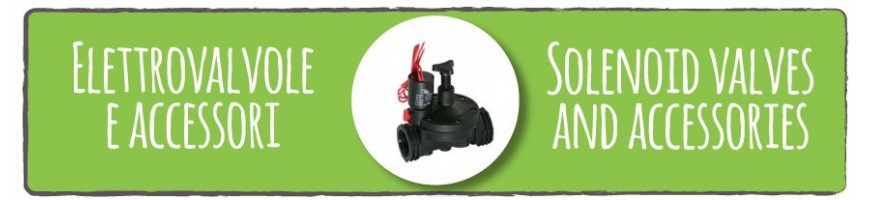 Solenoid valves and accessories