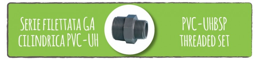 PVC-UHBSP threaded set
